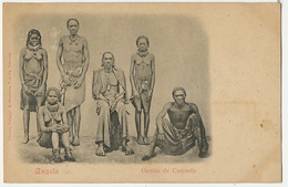 Angola Gentio De Caconda  Edit Osorio Loanda  Nude Men And Women - Angola