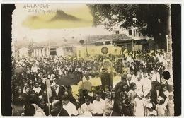 Real Photo Alajuela Costa Rica  To Malaga Spain 1936  Tax - Costa Rica