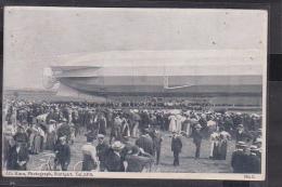 S55 /   Zeppelin Stuttgart Katastrophe 1908 / Backnang - Reutlingen - Dirigibili