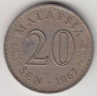 @Y@   Maleisie  20 Sen  1967  (4182) - Maleisië