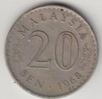@Y@   Maleisie  20 Sen  1968  (4183) - Maleisië