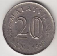 @Y@   Maleisie  20 Sen  1988  (4187) - Maleisië
