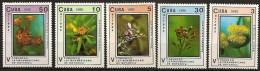 Cuba 3035/3039 ** MNH. 1990 - Nuevos