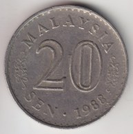 @Y@   Maleisie  20 Sen  1988  (4188) - Maleisië