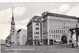 DORTMUND , Germany , 1950s ; Kampstrasse , Ecke Hansastrasse - Dortmund