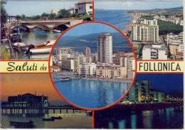 FOLLONICA - Viste Panoramiche, Saluti Da Follonica,  Viaggiato - Italie