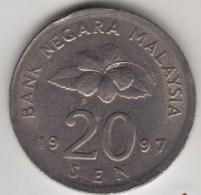 @Y@   Maleisie  20 Sen  1997  (4196) - Maleisië