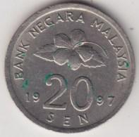 @Y@   Maleisie  20 Sen  1997  (4197) - Maleisië