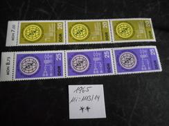 DDR 1965  Top Condition Postfrisch / DV/  Rand /Paare - [6] Democratic Republic