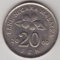 @Y@   Maleisie  20 Sen  2000  (4202) - Malaysie