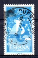 Spain - 1955 - 3 Peseta Telegraph Centenary - Used - 1931-Aujourd'hui: II. République - ....Juan Carlos I