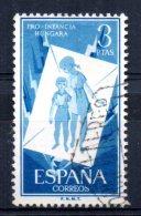 Spain - 1956 - 3 Peseta Hungarian Children's Relief - Used - 1931-Aujourd'hui: II. République - ....Juan Carlos I