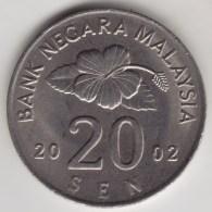 @Y@   Maleisie  20 Sen  2002  (4207) - Maleisië