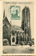 16088 Belgium,  Maximum, The Church Of Mechelen Malines, L'eglise De Malines, - Eglises Et Cathédrales