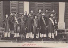 CPA:Cochinchine:Baria:Chefs Et Sous-chefs De Canton - Vietnam