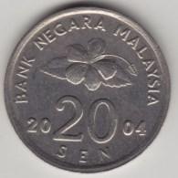 @Y@   Maleisie  20 Sen  2004  (4209) - Malaysie