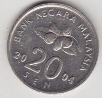 @Y@   Maleisie  20 Sen  2004  (4210) - Maleisië