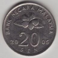 @Y@   Maleisie  20 Sen  2005  (4211) - Maleisië