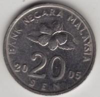 @Y@   Maleisie  20 Sen  2005  (4212) - Malaysie