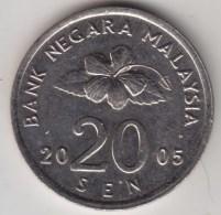 @Y@   Maleisie  20 Sen  2005  (4213) - Maleisië