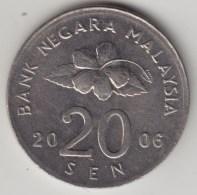 @Y@   Maleisie  20 Sen  2006  (4215) - Malaysie