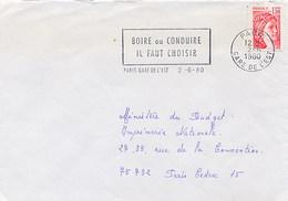 FRANCE - BOIRE OU CONDUIRE - IL FAUT CHOISIR - Paris Gare De L'Est - Incidenti E Sicurezza Stradale
