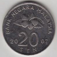 @Y@   Maleisie  20 Sen  2007  (4218) - Malaysie