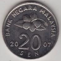 @Y@   Maleisie  20 Sen  2007  (4219) - Malasia