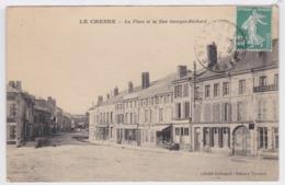 08 - Le Chesne - La Place Et La Rue Georges Béchard - Le Chesne