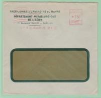 Fr19. France EMA   Tréfilerie Laminoirs Du Havre - Storia Postale