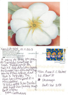 Georgia O'Keeffe, Art Painting Postcard Posted 2013 Stamp - Paintings