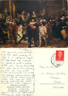 Rembrandt, Art Painting Postcard Posted 1952 Stamp - Peintures & Tableaux