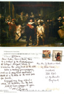 Rembrandt, Art Painting Postcard Posted 2012 Stamp - Peintures & Tableaux