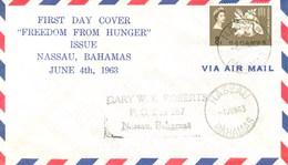 BAHAMAS - FDC - FREEDOM FROM HUNGER - Bahamas (1973-...)