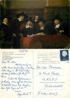 Rembrandt, Art Painting Postcard Posted 1970 Stamp - Peintures & Tableaux