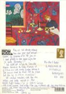 Henri Matisse, Art Painting Postcard Posted 2000 Stamp - Peintures & Tableaux