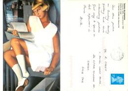 Tamara De Lempicka, Art Painting Postcard Posted 2003 Stamp - Malerei & Gemälde