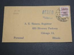 EQUATEUR - Enveloppe Pour Chicago En 1954 Par Avion , Affranchissement Plaisant - A Voir - L 5731 - Ecuador