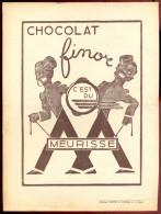 Chocolat FINOR - Meurisse - Pub De 1938. - Chocolate