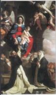 SANTINO  HOLY CARD - MADONNA Del ROSARIO - Foto. Fronte/retro *** - Santini