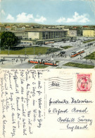 Westbahnhof Railway Station, Wien, Austria Postcard Posted 1955 Stamp - Unclassified