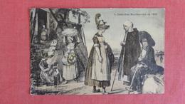 Costumes Bourbonnais En 1830--------- Ref 2408 - Europe