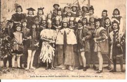 CPA - 60 - PONT SAINTE MAXENCE - Ecole Ste-Marie - Fête De Jeanne D'Arc - 12 Mai 1909 - - Pont Sainte Maxence