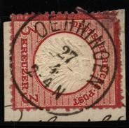 D.R.Brustschildmarke Mit Stempel Oehningen (126) - Germany