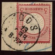 D.R.Brustschildmarke Mit Stempel Oos (126) - Deutschland