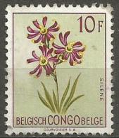 Belgian Congo - 1952 Flowers Series 10f Used   SG 314  Sc 281 - Congo Belge