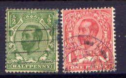 Great Britain Nr.121/2 Type I         O  Used        (692) - 1902-1951 (Könige)