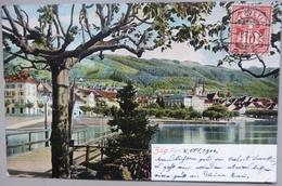 CPA Suisse - Zug - Belle Oblitération - 1906 - 2 Photos - - ZG Zoug