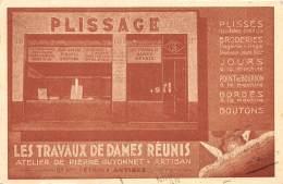 06 - ALPES MARITIMES / Antibes - Les Travaux De Dames Réunis - Atelier De Pierre Guyonnet - - Antibes