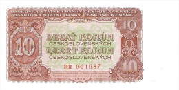 Czechoslovakia - Pick 83b - 10 Korun 1953 - Unc - Cecoslovacchia